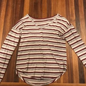 American Eagle striped long sleeve.